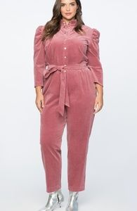 NWT Eloquii Puff Sleeve Jumpsuit